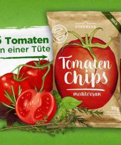 Dörrwerk Tomaten Chips mediterran
