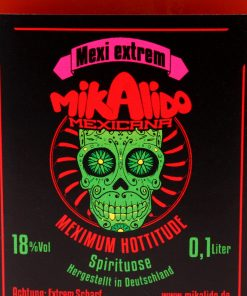 Mikalido Mexikaner Schnaps extrem scharf 100 ml