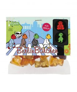 "mind sweets Berlin Fruchtgummi Bärchen ""Ampel"" 50 g"