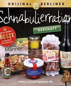 Orijinal Berliner Koffer Schnabulierration herzhaft