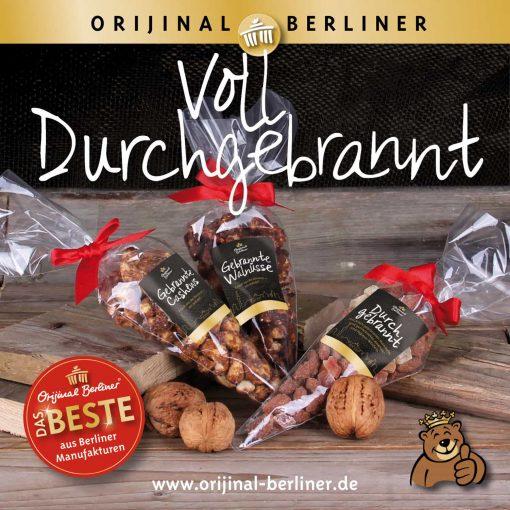 Orijinal Berliner Koffer Voll Durchgebrannt