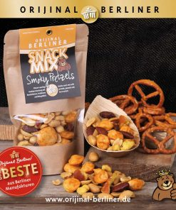 Orijinal Berliner Snack Mix Smoky Pretzels