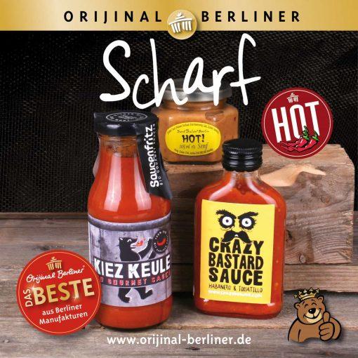 """Orijinal Berliner Tüte """"scharf"""""""