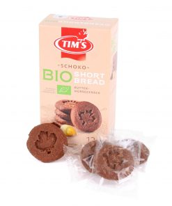 Tim's Bio Short Bread Schoko