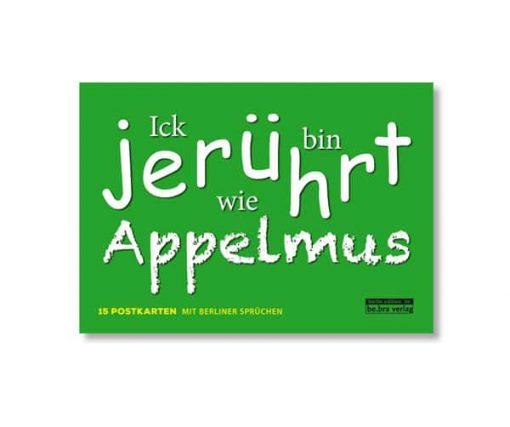 be.bra verlag: Berliner Sprüche