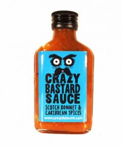 Crazy Bastard Sauce Scotch Bonnet & Caribean Spices (Blue Label) 100ml