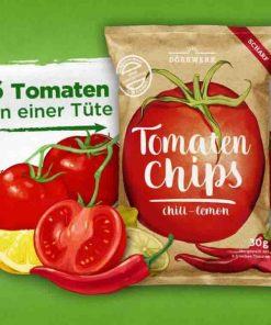 Dörrwerk Tomaten Chips Chili Lemon