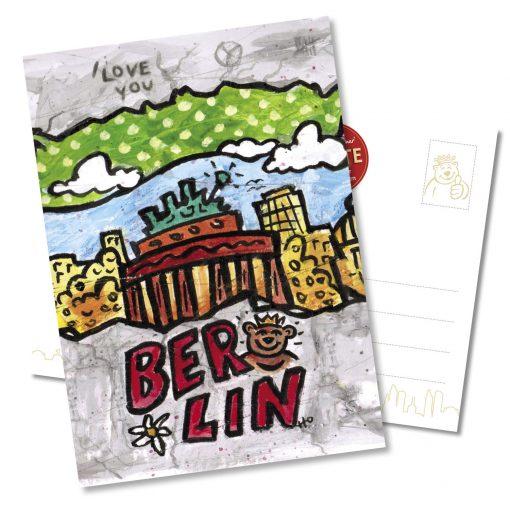 "Orijinal Berliner Postkarte ""Brandenburger Tor"""