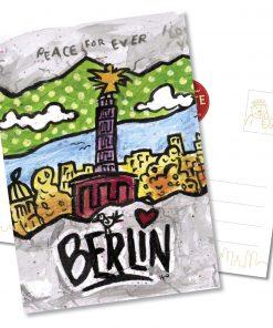"Orijinal Berliner Postkarte ""Siegessäule"""