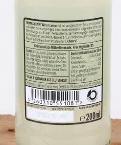 Thomas Henry Bitter Lemon 0,2 l