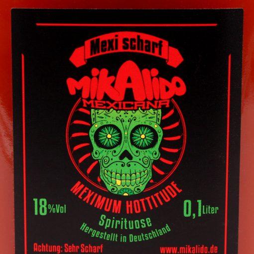 Mikalido Mexikaner Schnaps scharf 100 ml