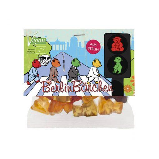 """mind sweets Berlin Fruchtgummi Bärchen """"Ampel"""" 50 g"""