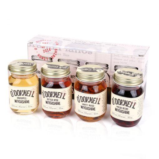 O´Donnell 4 Mini Moonshine-Jars