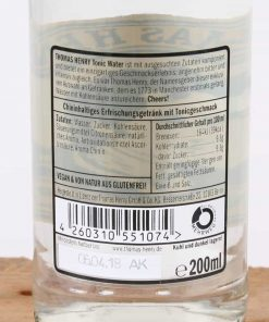 Thomas Henry Tonic Water 0,2 l