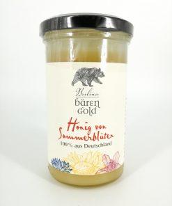"""Berliner Bärengold """"Honig von Sommerblüten"""" 325g Glas"""