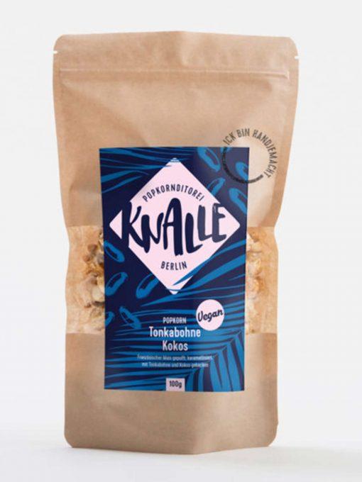 Knalle - Tonkabohne Kokos Popcorn - vegan