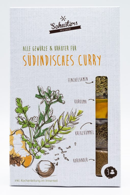 Südindisches Curry von Schusters Würzerei