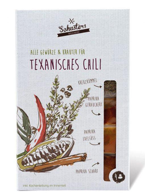 Texanisches Chili von Schusters Würzerei