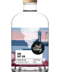BBQ Dry Gin von Berlin Distillery 500ml