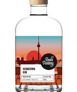 Sundown Gin von Berlin Distillery 500ml