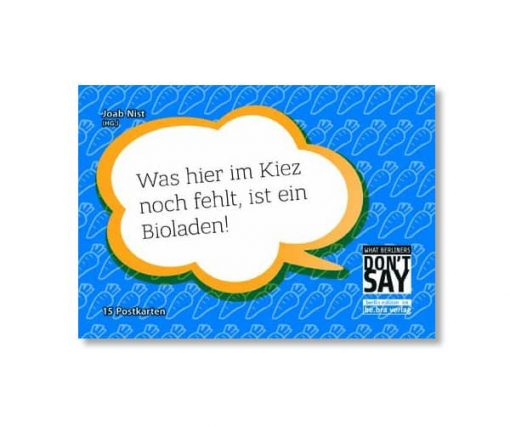 be.bra verlag: What Berliners don´t say