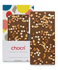 """chocri Schokoladentafel """"Crunchy Caramel"""""""