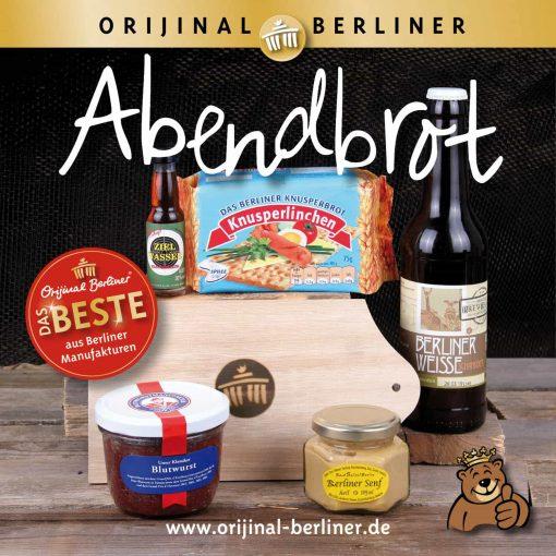 Orijinal Berliner Lunchbox Abendbrot