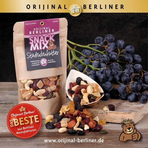 Orijinal Berliner Snack Mix Studentenfutter
