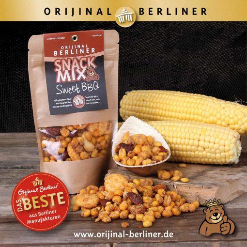 Orijinal Berliner Snack Mix Sweet BBQ