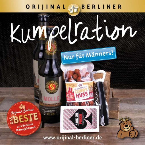 "Orijinal Berliner Tüte ""Kumpelration"""