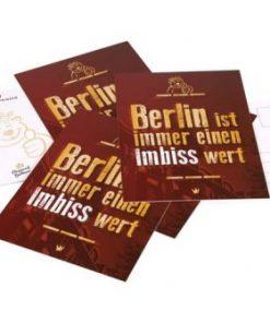 "Postkarte ""Imbiss"""