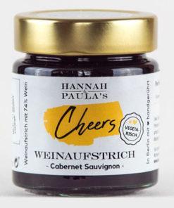 Hannah & Paula´s Cabernet Sauvignon Cheers Weinaufstrich