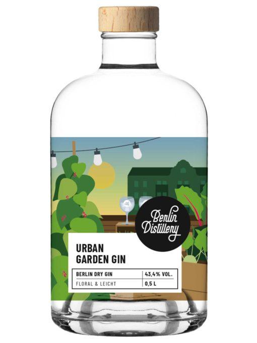 Urban Garden Gin von Berlin Distillery 0,05l