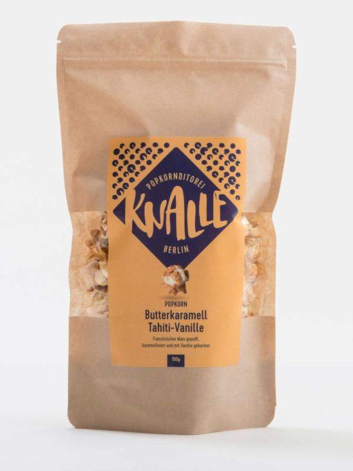 Knalle - Butterkaramell Tahiti-Vanille Popkorn