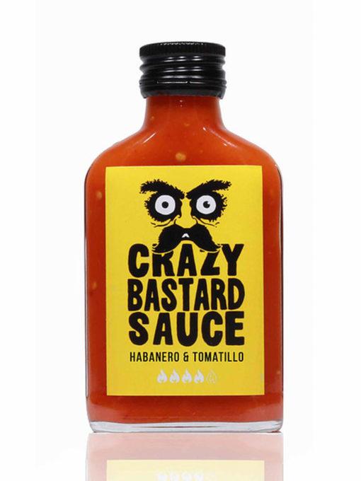 Crazy Bastard Sauce Habanero & Tomatillo 100 ml