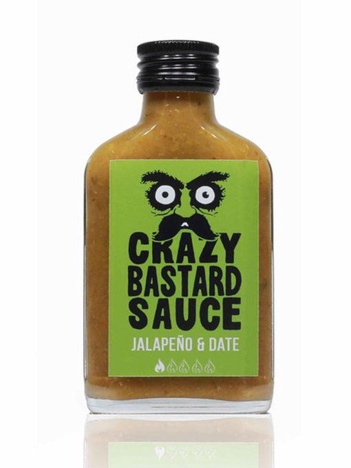 Crazy Bastard Sauce Jalapeño & Date (Green Label) 100ml