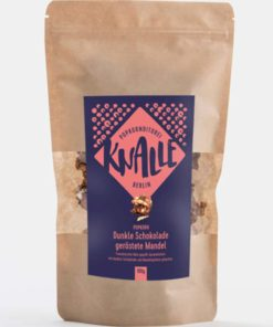 Knalle - Dunkle Schokolade geröstete Mandeln Popkorn